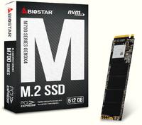 512GB BIOSTAR M700 M.2 NVMe PCIe SSD
