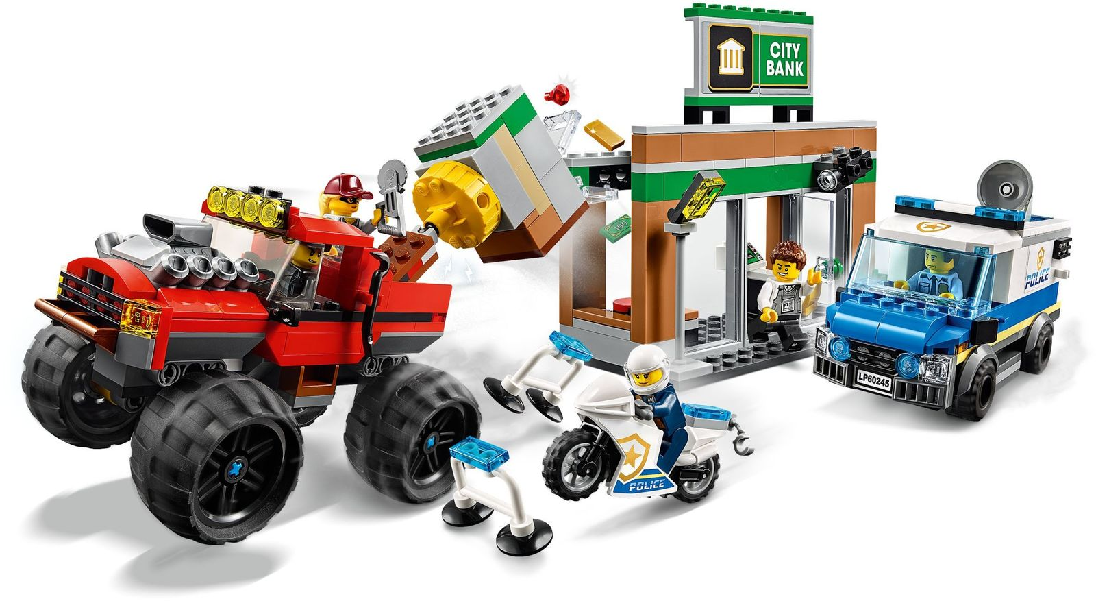 LEGO City: Police Monster Truck Heist - (60245) image