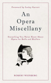 An Opera Miscellany by Robert Weinberg image