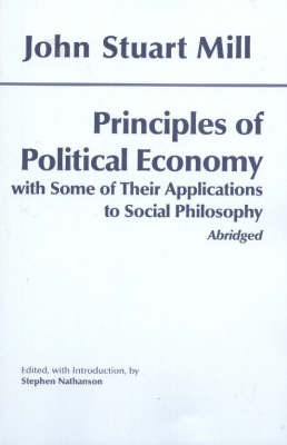 Principles of Political Economy: With Some of Their Applications to Social Philosophy by John Stuart Mill image