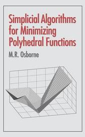 Simplicial Algorithms for Minimizing Polyhedral Functions by M.R. Osborne