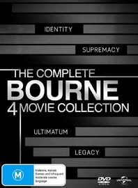 The Bourne Quadrilogy on DVD