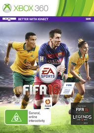 FIFA 16 for X360