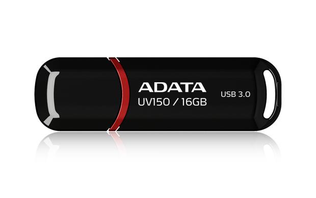 16GB ADATA UV150 Dashdrive USB 3.0 Flash Drive (Black) image