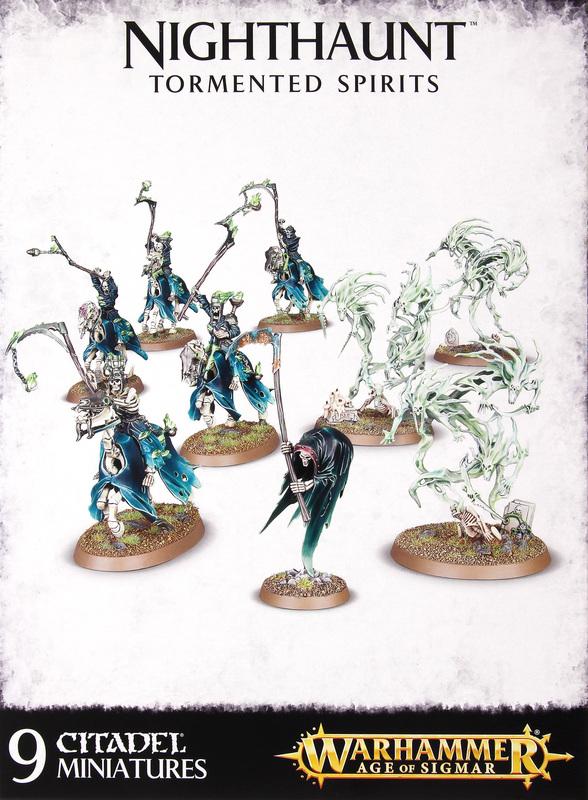 Warhammer Age of Sigmar: Nighthaunt Tormented Spirits
