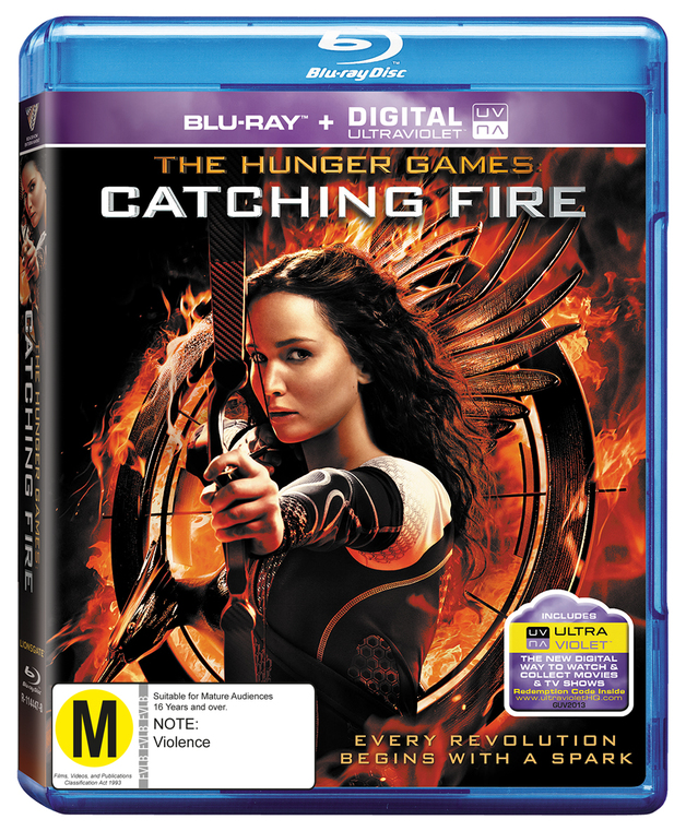 The Hunger Games: Catching Fire on Blu-ray