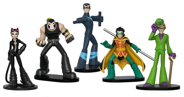 DC Comics - HeroWorld Figures #2 - (5-Pack)