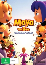 Maya The Bee: The Honey Games on DVD
