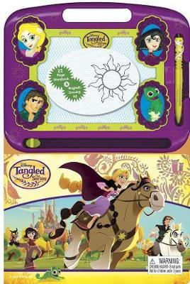 Tangled – Learning Book With Magnetic Drawing Pad by Phidal Publishing