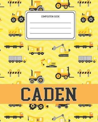 Composition Book Caden by Construction Composition Books