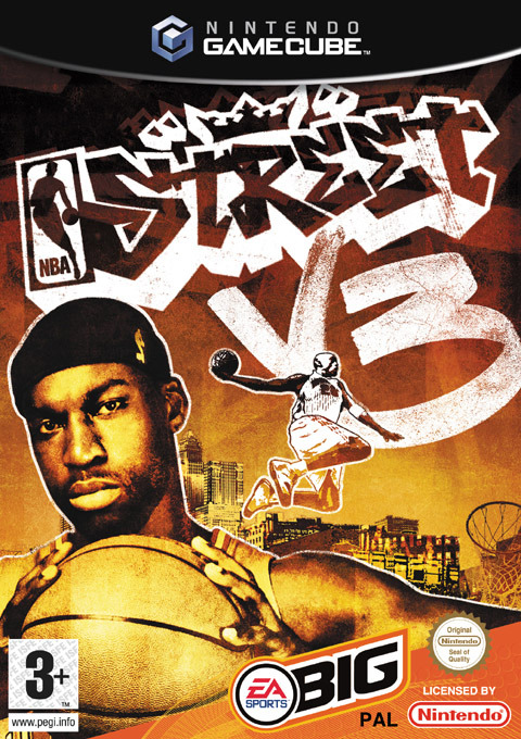 NBA Street V3 for GameCube