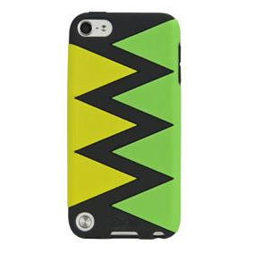 Gecko Swirl Case for iPod Touch 5G (Yellow/Green)