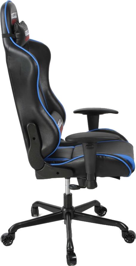 Gorilla Gaming Commander Chair Blue Amp Black On Sale