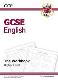 GCSE English Workbook (Including Answers) (A*-G Course) by CGP Books