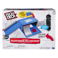 Tech Deck: Transforming SK8 Container - Playset