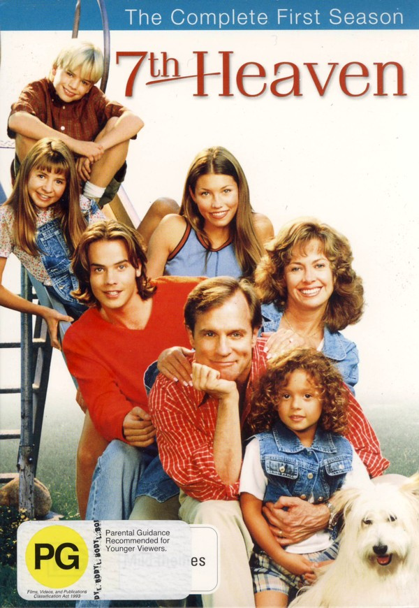 7th Heaven - Complete Season 1 (6 Disc Set) on DVD image