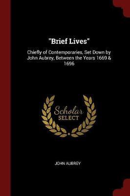 Brief Lives by John Aubrey image