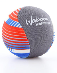 Waboba: Extreme Ball - Black & Blue/Red/White (Lines)
