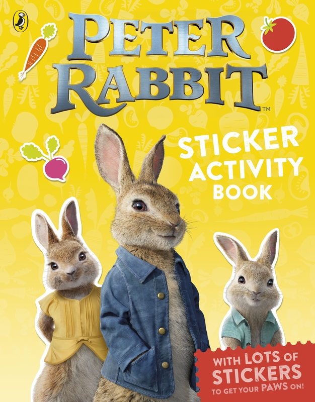 Peter Rabbit The Movie: Sticker Activity Book by Frederick Warne