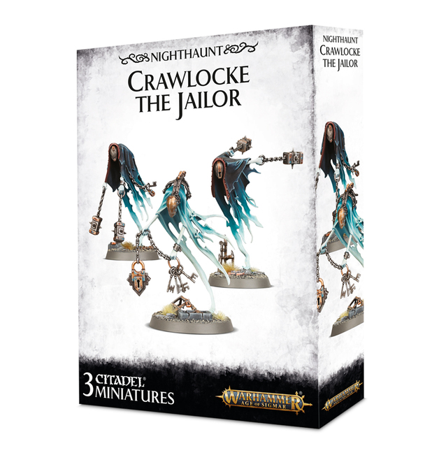 Warhammer Age of Sigmar: Nighthaunt - Crawlocke the Jailor and Chainghasts