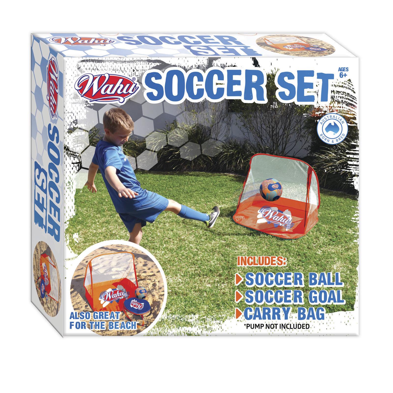 Wahu: Soccer Goal - Beach Playset image
