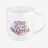 Buongiorno Mug - Smile You Are Beautiful