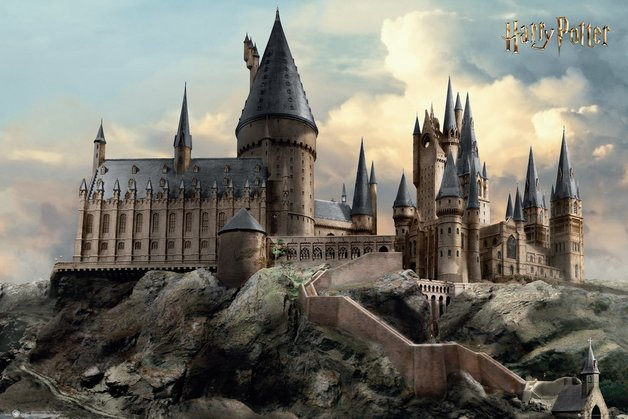 Harry Potter Maxi Poster - Hogwarts Day (1013)