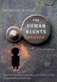 The Human Rights Reader by Micheline R. Ishay image