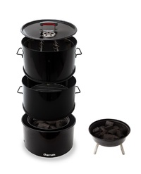 Charmate Stack Drum Smoker & BBQ Grill
