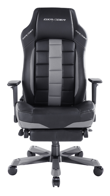 DXRacer Classic Series CT120 Gaming Chair (Black & Grey) for