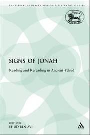The Signs of Jonah by Ehud Ben Zvi