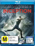 Inception - Combo Pack (Blu-ray/DVD) (One Time Case) on DVD, Blu-ray