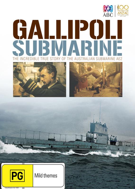 Gallipoli Submarine on DVD