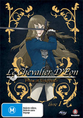Le Chevalier D'Eon - Livre 1: Psalm Of Vengeance on DVD
