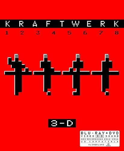 Kraftwerk - 3-D The Catalogue on DVD, Blu-ray, 3D Blu-ray image