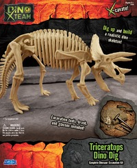 Smithsonian: X-Team Dino Digs - Triceratops image