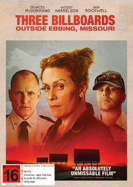 Three Billboards Outside Ebbing, Missouri on DVD
