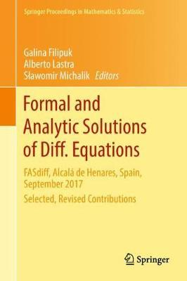 Formal and Analytic Solutions of Diff. Equations