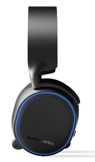 SteelSeries Arctis 5 Wired Gaming Headset (Black, 2019 Edition) for PC image