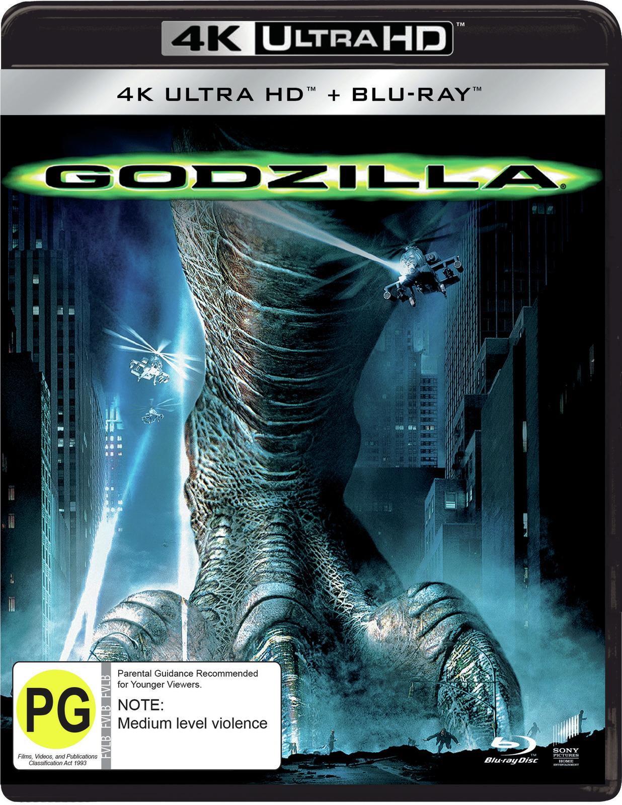Godzilla on UHD Blu-ray image