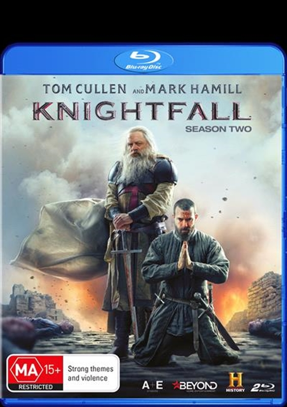 Knightfall - The Complete Second Season on Blu-ray