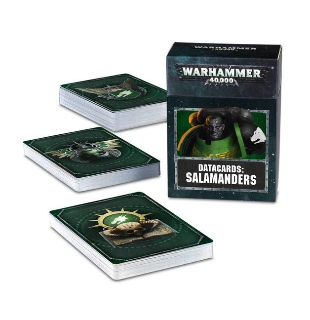 Warhammer 40,000 Datacards: Salamanders