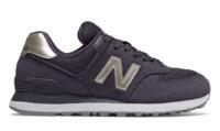 New Balance: Womens 574 Running Shoes - Dark Blue (Size US 6.5)