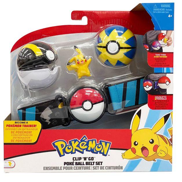 Pokemon: Clip 'N' Go Ball Belt Set - Pikachu