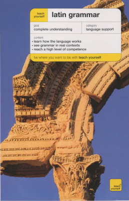 Teach Yourself Latin Grammar by G.E. Klyve image