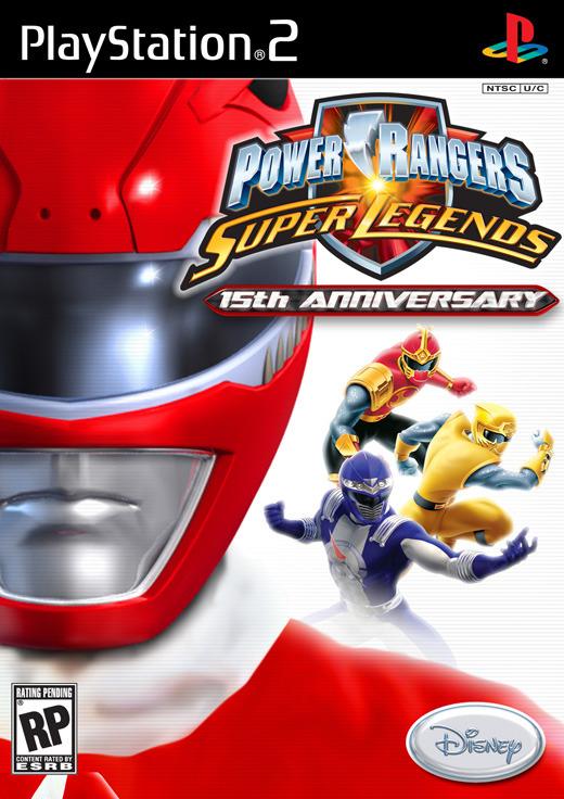 Power Rangers: Super Legends for PlayStation 2