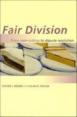 Fair Division by Steven J Brams