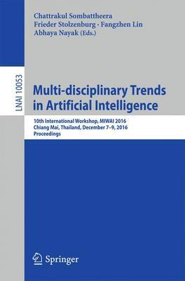 Multi-disciplinary Trends in Artificial Intelligence image