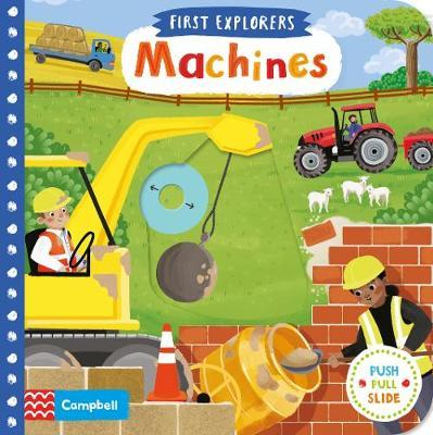 Machines by Campbell Books image