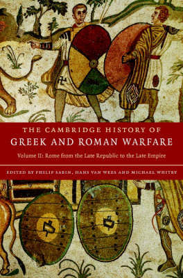 Cambridge History of Greek and Roman Warfare 2 Volume Hardback Set image